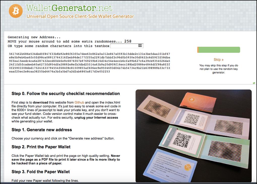WalletGenerator.net