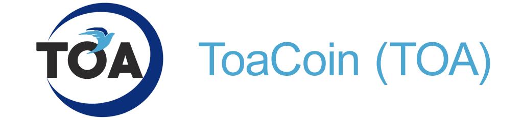 Криптовалюта ToaCoin
