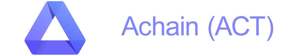 Криптовалюта Achain
