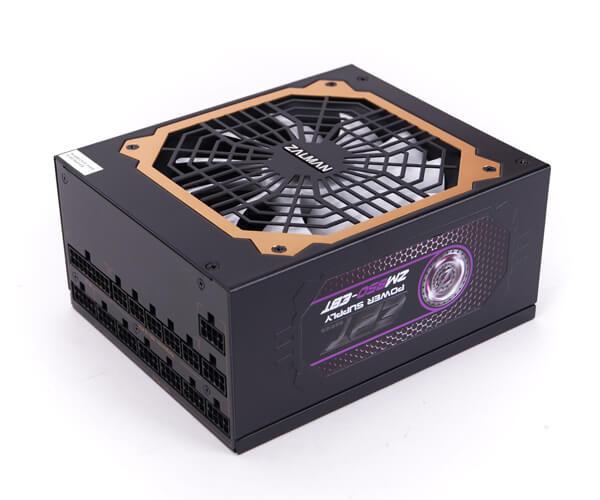 Zalman 1200W ZM1200-EBT v2.3, A.PFC, 80 Plus Gold, Fan 14 cm, Fully Modular