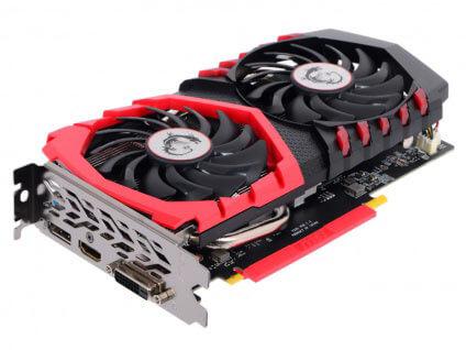 MSI GeForce GTX 1050 Ti GAMING X 4G 4Gb 1290MHz
