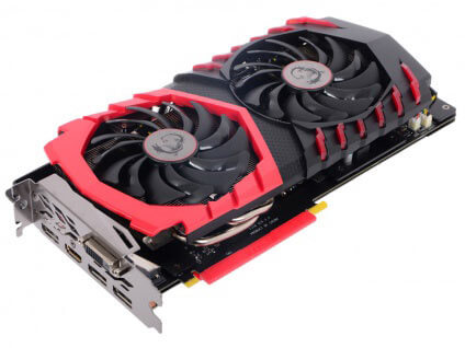 MSI GeForce GTX 1060 Gaming X 6G 6GB 1569 MHz