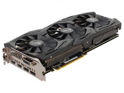 ASUS GeForce GTX 1070 STRIX-GTX1070-8G-GAMING 8GB 1506 MHz
