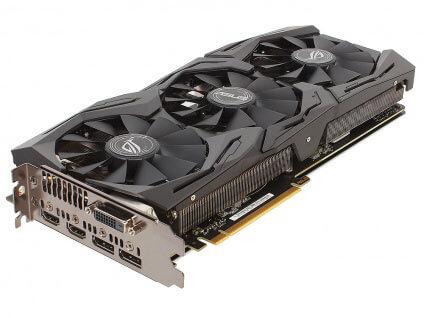 ASUS GeForce GTX 1080 STRIX-GTX1080-A8G-GAMING 8GB 1470 MHz