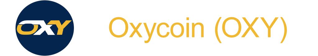 Криптовалюта Oxycoin