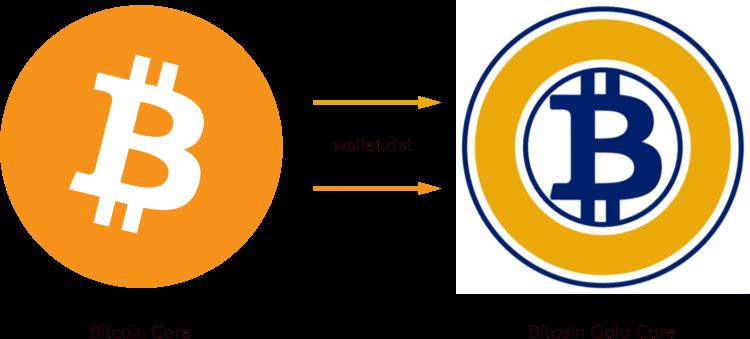 Как получить BTG из файла wallet.dat из Bitcoin Core