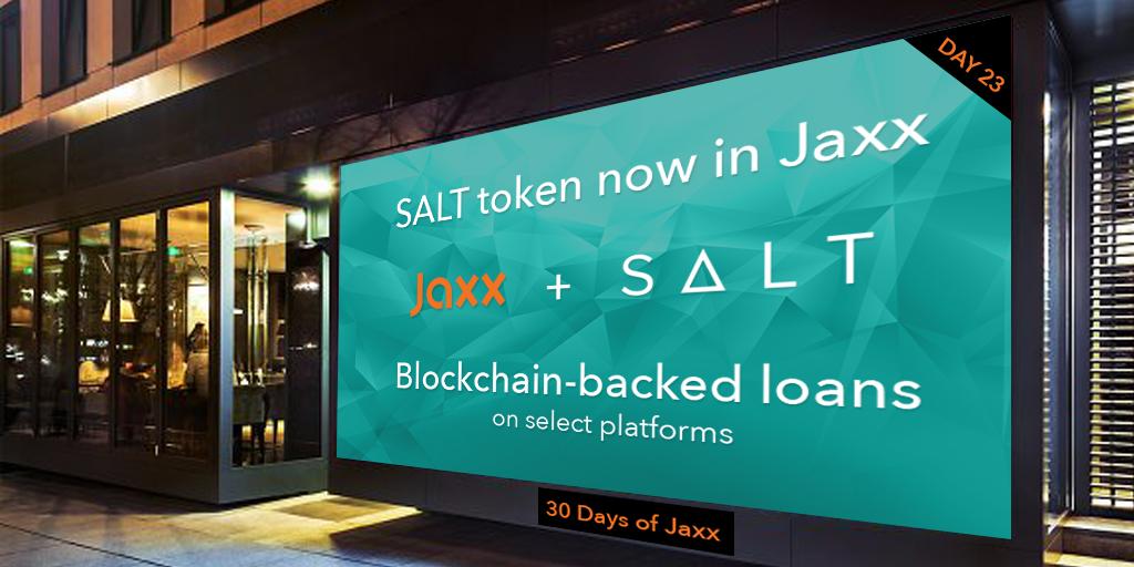 Криптовалюта SALT