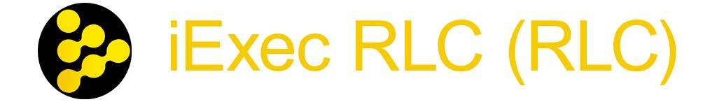 Криптовалюта iExec RLC
