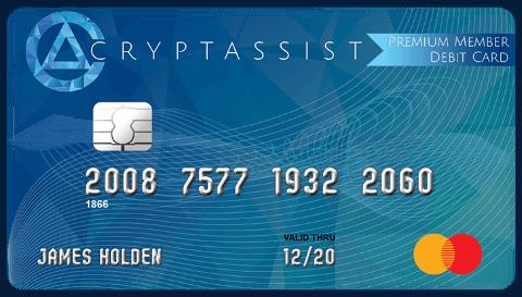 Дебетовая карта Cryptassist