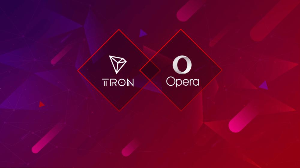 Opera добавит поддержку TRON в свой CryptoWallet