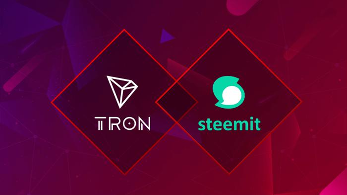 Steemit присоединяется к экосистеме TRON