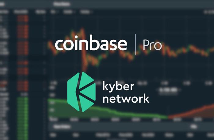 Coinbase Pro настроен для перечисления токена KNC от Kyber Network