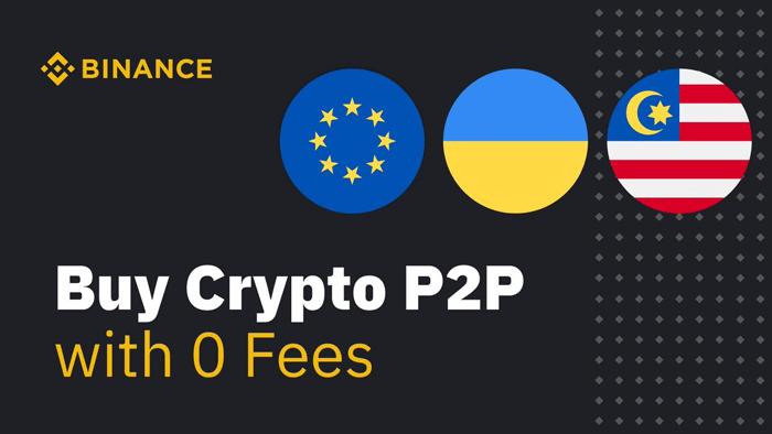 В Binance P2P добавлена поддержка евро, малайзийского ринггита и украинской гривны