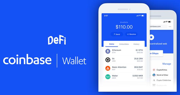 Coinbase Wallet позволяет легче зарабатывать проценты с помощью приложений DeFi