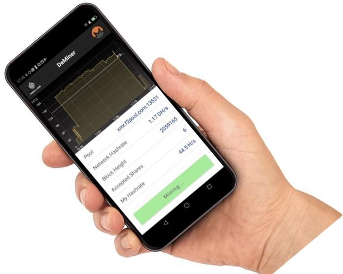 HTC разрешает майнинг monero напрямую через блокчейн-смартфон EXODUS