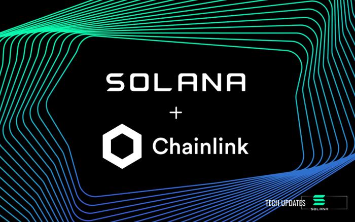 Solana Blockchain Network вступает в партнерство с Chainlink