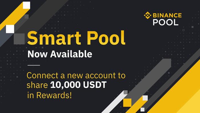 Binance Pool запускает услугу Smart Pool Service, которая автоматически переключает майнинг между BTC, BCH и BSV для максимизации дохода