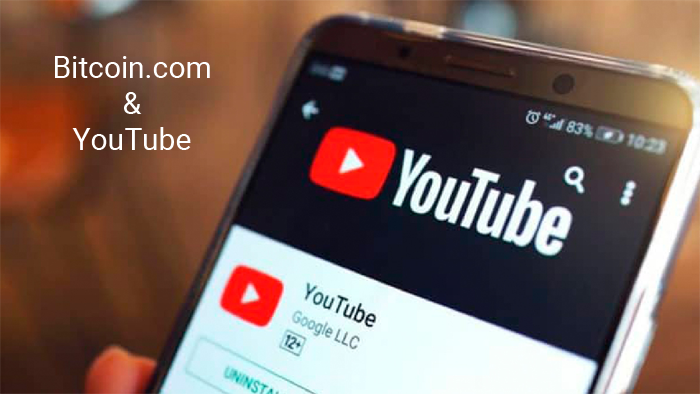 YouTube забанил аккаунт Bitcoin.com