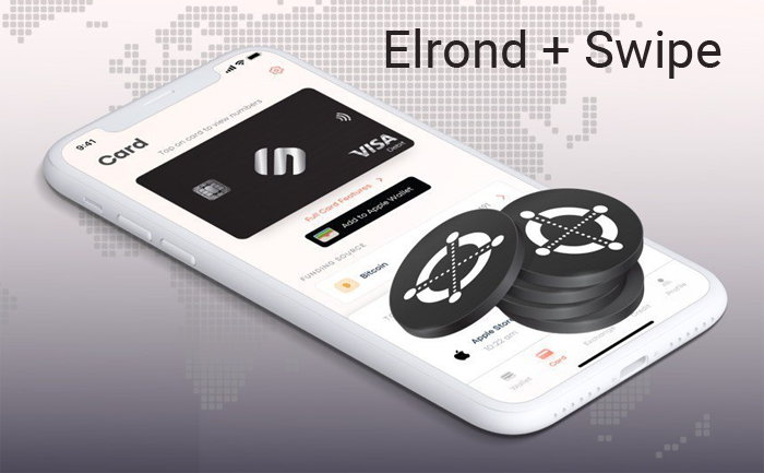 Elrond будет интегрирован с сервисами Swipe