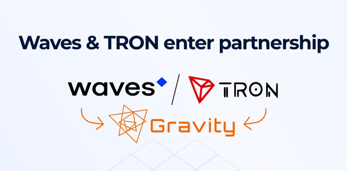 Tron и Waves объявили о партнерстве