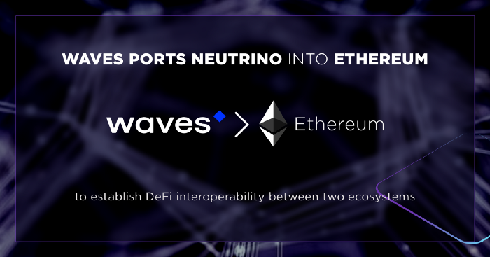 Waves переносит высокодоходный стейблкоин Neutrino USD в сеть Ethereum