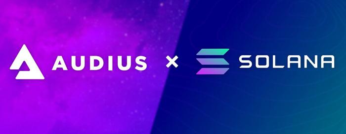 Audius выбирает Solana для масштабирования потоковой передачи музыки