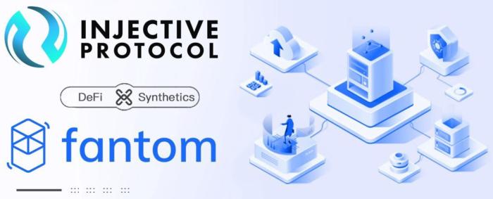 Injective Protocol объявил о стратегическом партнерстве с Fantom с целью ускорения внедрения синтетических активов