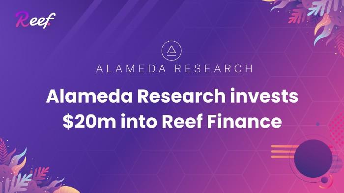 Alameda Research инвестировала 20 млн. долларов в Reef Finance