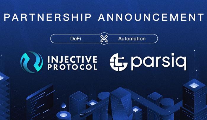 Injective объявил о партнерстве с PARSIQ