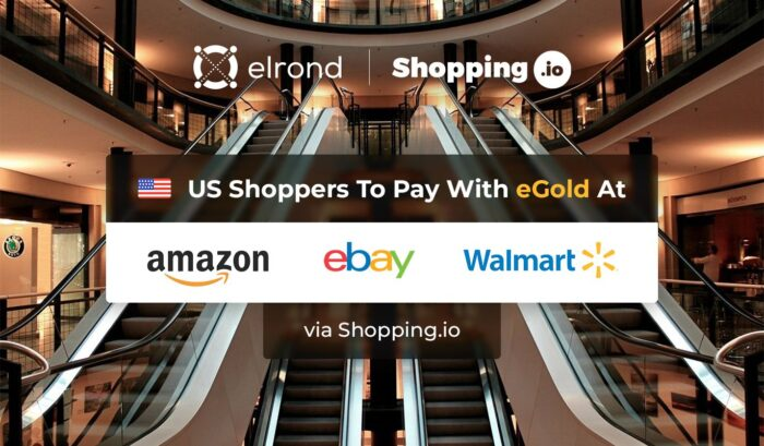 Теперь можно расплачиваться eGold на Amazon, Walmart и eBay через Shopping.io