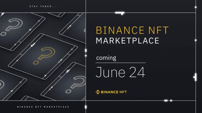 Binance запустит свой NFT-маркетплейс 24 июня