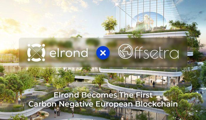 Elrond объявил о партнёрстве с Offsetra