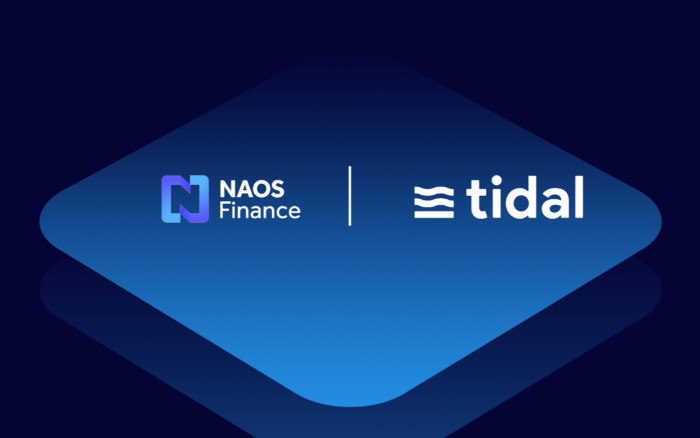 NAOS объявила о партнерстве с Tidal