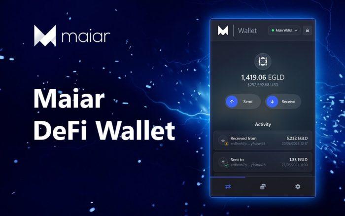 Elrond представил кошелек Maiar DeFi Wallet
