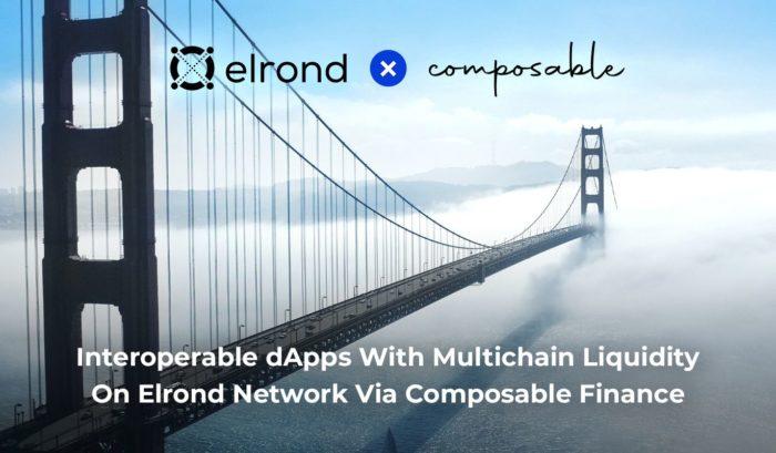 Elrond объявила о сотрудничестве с Composable Finance
